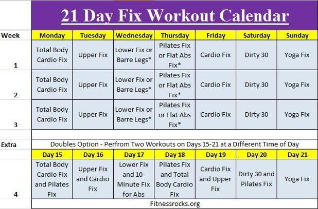 22 day fix diet plan image 9